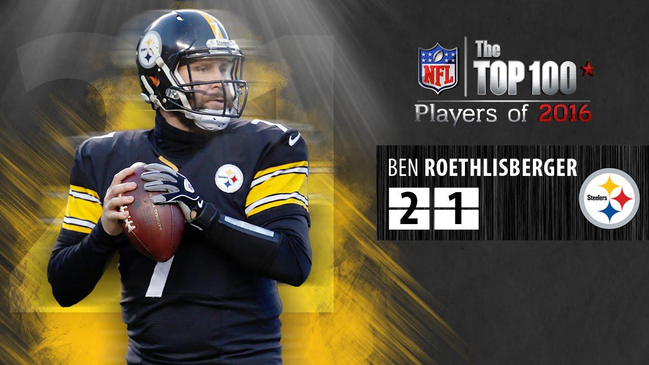 21 Ben Roethlisberger QB Steelers