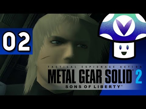 [Vinesauce] Vinny - Metal Gear Solid 2: Sons of Liberty (part 2)