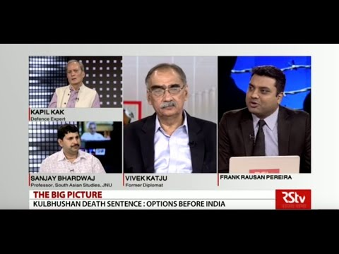 The Big Picture - Death Sentence to Kulbhushan Jhadav: what are the option before India
