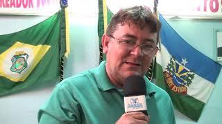 Vereador Samuel requer pavimentação em Quixeré e Lagoinha