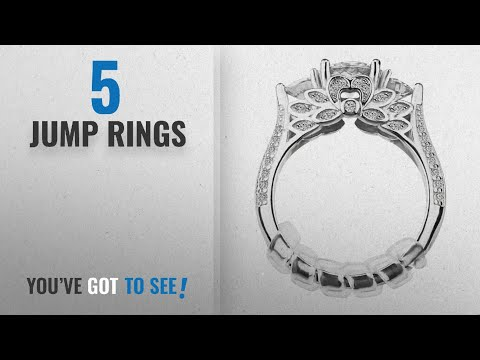 Top 10 Jump Rings [2018]: Ring Size Adjuster with Jewelry Polishing Cloth for Loose Rings, Set of