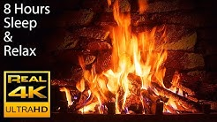 🔥 The Best 4K Relaxing Fireplace with Crackling Fire Sounds 8 HOURS No Music 4k UHD TV Screensaver