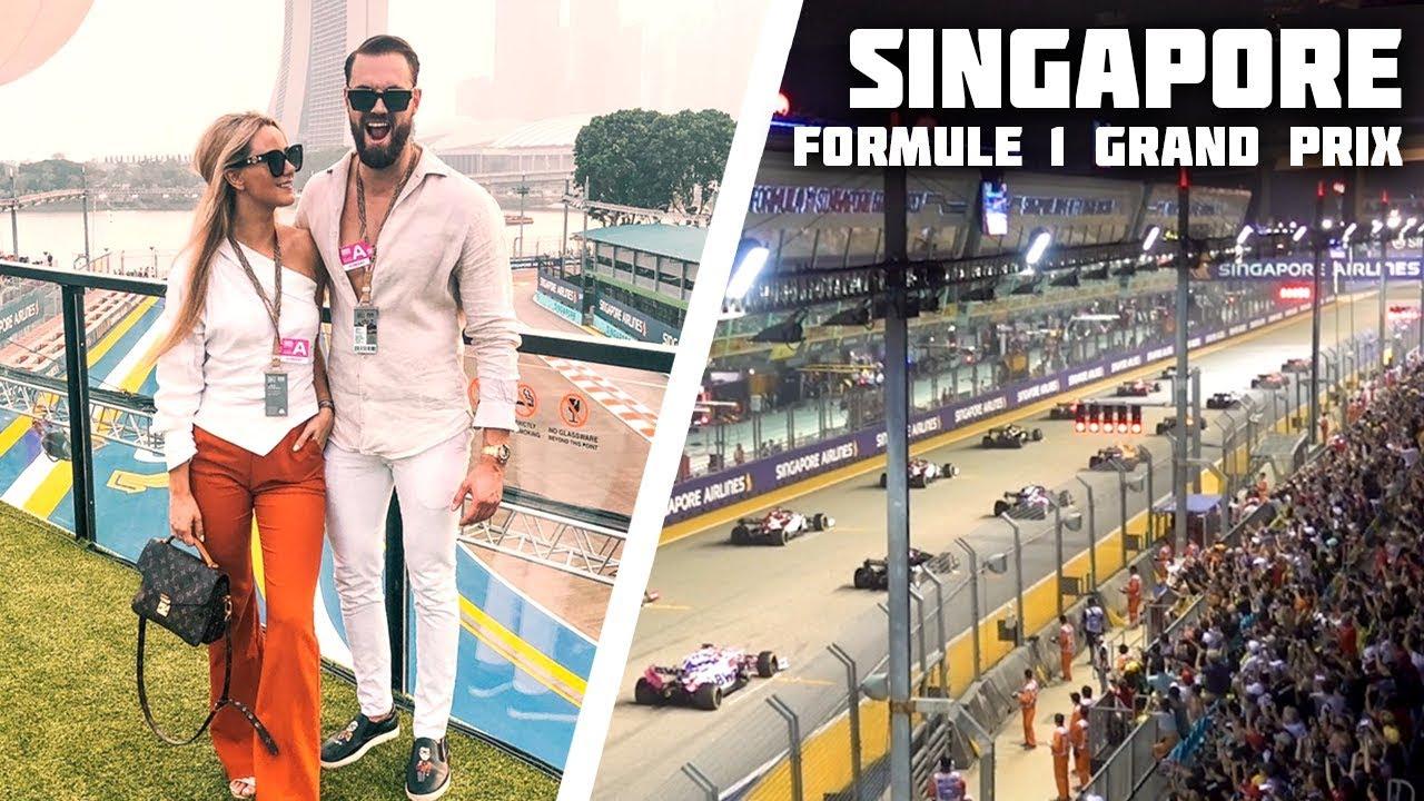 FORMULE 1 LIVE IN SINGAPORE KIJKEN - MAX VERSTAPPEN????