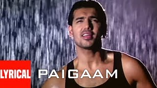 Paigaam Lyrical Video Song | Lakeer | A.R. Rahman | Sunny Deol, Sunil Shetty, John Abraham