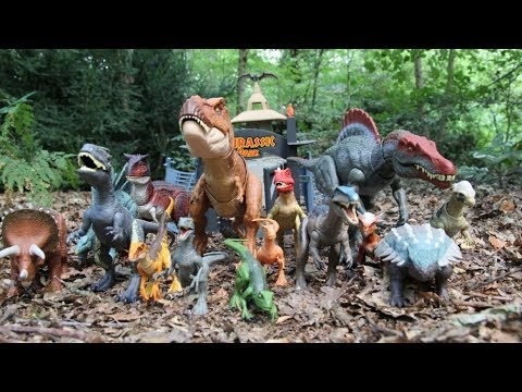 Jurassic World Fallen Kingdom Toy Collection