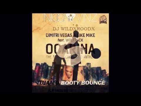 Ocarina vs Am I Wrong vs Booty Bounce (DV&LM Mashup) ( Tomorrowland 2015)