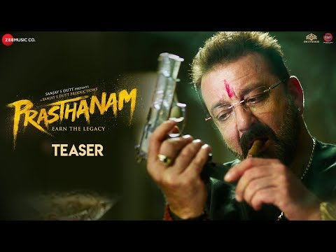Prasthanam movie Official Teaser starring Sanjay Dutt, Jackie Shroff, Deva Katta