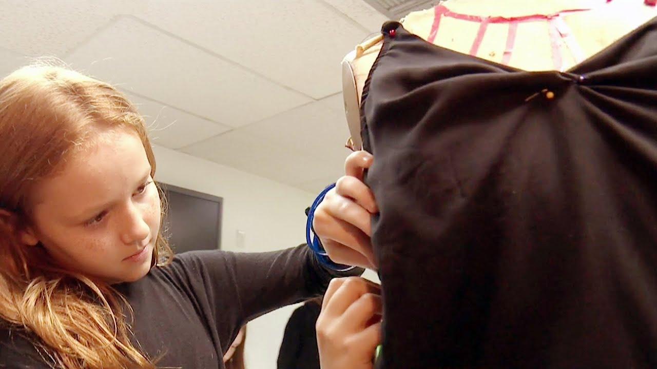 Conoce a estas pequeas diseadoras que ya se hacen su propia ropa