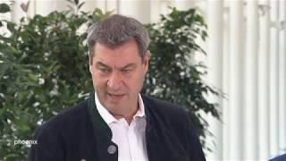 Pressekonferenz zum Thema Klimaschutz in Bayern am 19.11.19 thumbnail