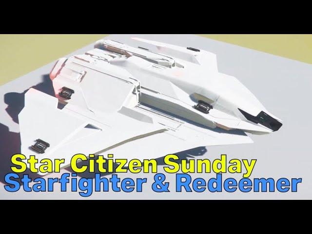 Ares Starfighter, Redeemer, Hacking & Orison   Star Citizen Sunday