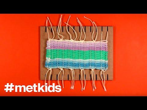 Metkidsweave On A Mini Loom Youtube