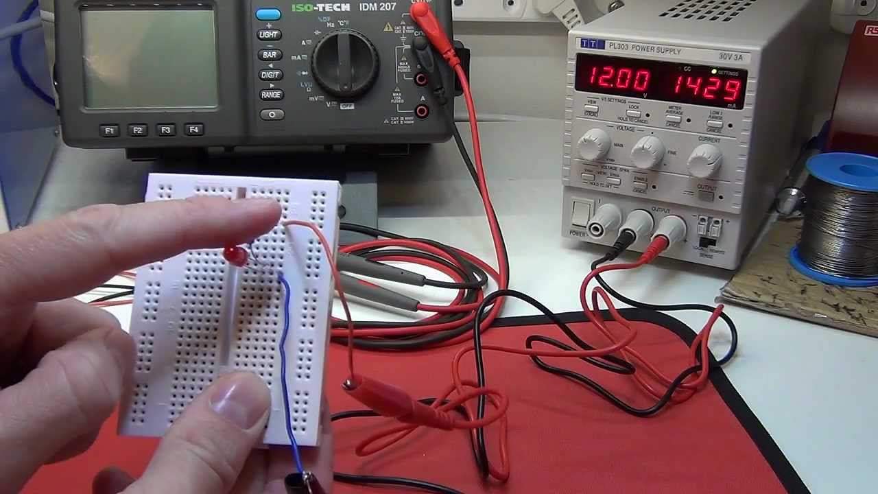 Electronics Tutorial 5 Ohms Law Pt 2 Applicationled Resistor Measurement In Series And Parallel Electrical Circuits On The App Voltage Divider Current Shunt Youtube