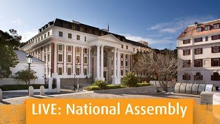 Joint sitting Debate on the State of The Nation Address