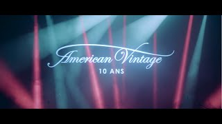 American Vintage Birthday Party #Jai10Ans