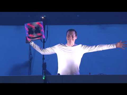 Marshmello finally reveals himself at EDC Las Vegas 2016