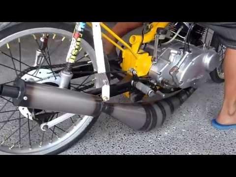 Kawasaki 125 setup covert to steel   Doovi
