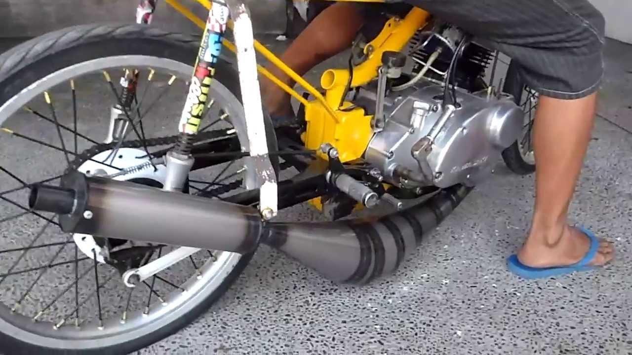 Kawasaki Hd3 125 With New Pipe Youtube
