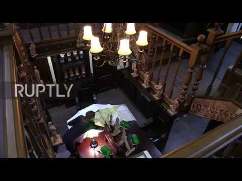 Russia: Book worms rejoice as sumptuous and VERY pricey library opens in St. Petersburg