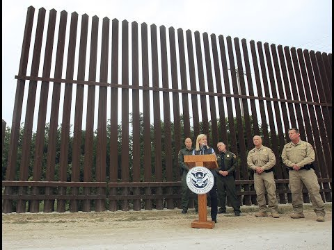 DHS Secretary Nielsen Press Conference as reports of Illegal immigration SURGE Back to Obama Levels