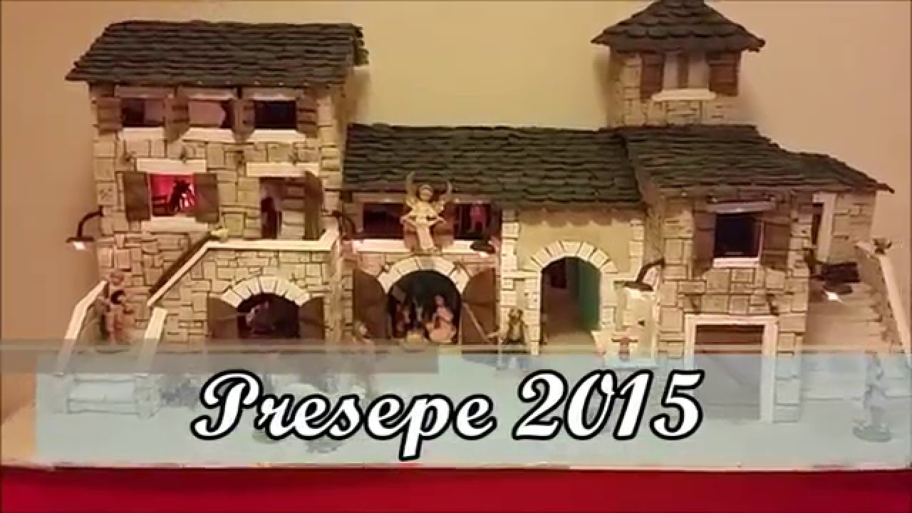 Presepe fai da te in polistirolo - YouTube