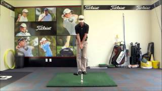 Full Swing Set Up - Driver Ball Position