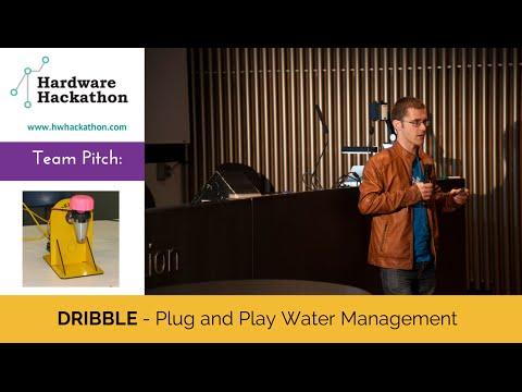 DRIBBLE Pitch (Dublin Hardware Hackathon 2014) #HackDublin