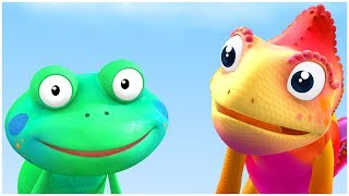 Cartoon For Kids   Funny Frog   CBeebies compilation   Everythings Rosie