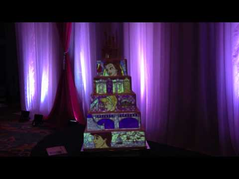 wedding cake projection projection wedding cake showcased at the disney fairytale 23573