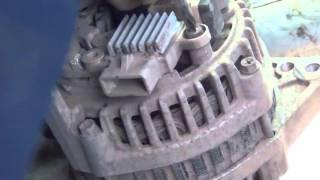 Ремонт генератора Daewoo Nexia 1,5 8v  Видео обзор ремонта генератора(, 2016-01-28T14:25:41.000Z)