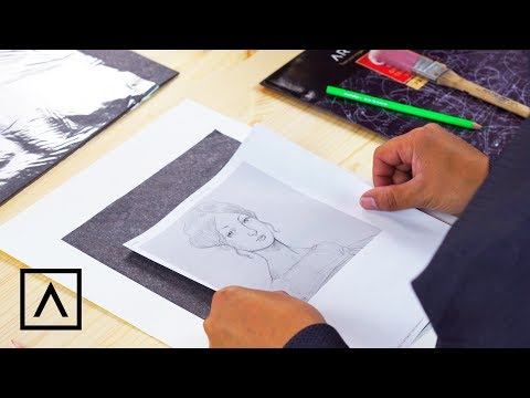 How To Use Graphite Transfer Paper