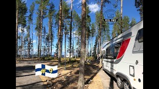 Camping in Finnland:  ⛺️Traumplatz Manamansalo Camping
