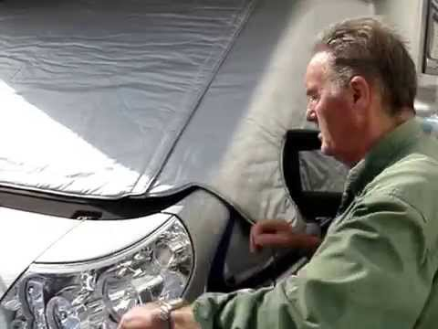 Paragon thermal Silver Screen fitting video camper motorhome
