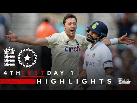 India Bowled Out for 191! | England v India - Day 1 Highlights | 4th LV= Insurance Test 2021