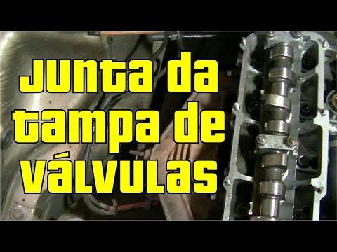 Troca da Junta da Tampa de Válvulas do Motor AP - Gol Quadrado