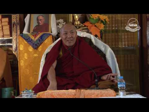 Mindfulness and Meditation by Geshe Lhakdor, Day 1