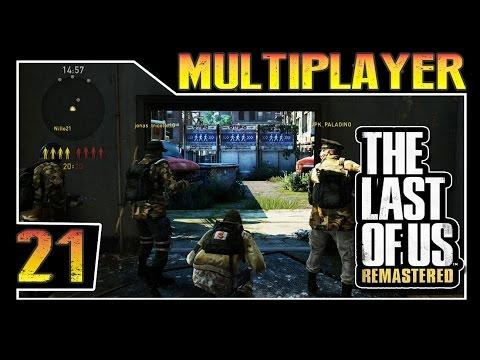 The Last of Us Remastered - Multiplayer Parte 21 - Voltando a jogar de Semi-Automatica lol
