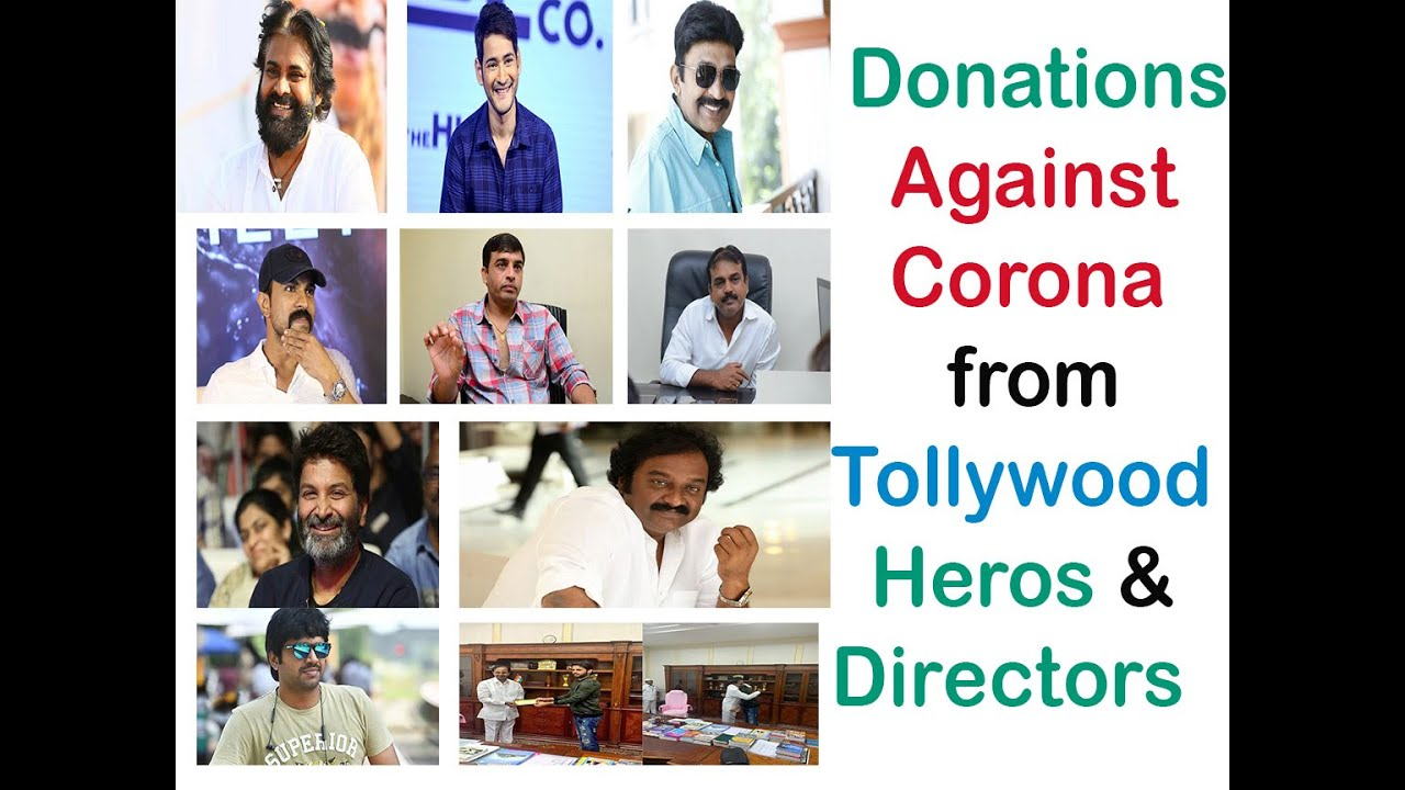 Tollywood Actors Donation List To COVID19 Fight