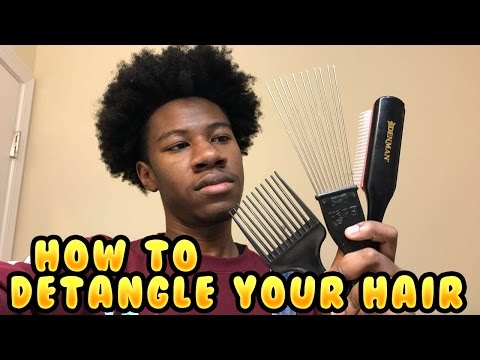 How to make your hair soft and curly for black guys
