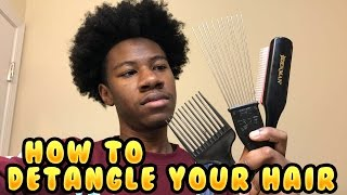 Different Ways To Detangle Your Natural Hair!