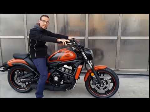 kawasaki vulcan s 650 2018 prova recensione test prezzo. Black Bedroom Furniture Sets. Home Design Ideas