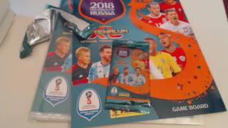 Panini Road to Russia FIFA World Cup 2018 Starter Pack !!!! Adrenalyn XL