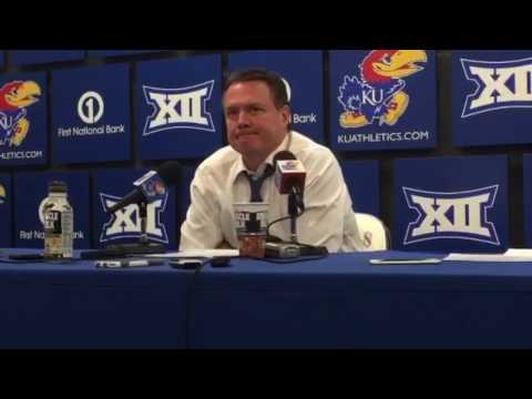 Coach Self post game after KU's loss to ISU