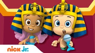 'Travel Adventures' 🌎  Music Video w/ Bubble Guppies & Dora the Explorer | Nick Jr. Sings 🎶