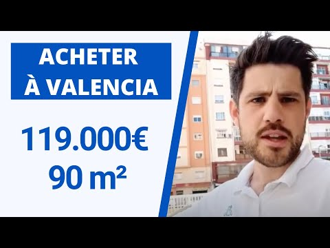 Visite d'appartement à Valencia   Campanar   119.000€   90 m²