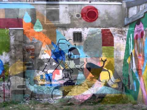 Projekcja   Street Art