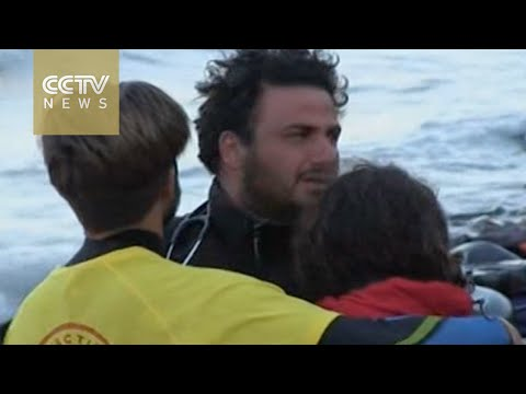 Volunteers cry for help on Greek island's tragic shores
