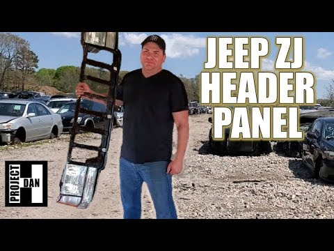 Jeep Zj Header Panel Build Disassembling And Reinforcing For A