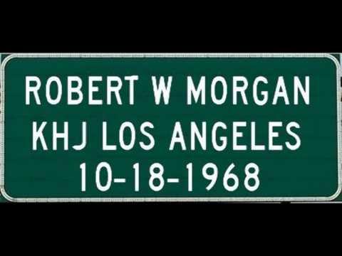 Robert W. Morgan,  93 KHJ Los Angeles, CA October 18, 1968