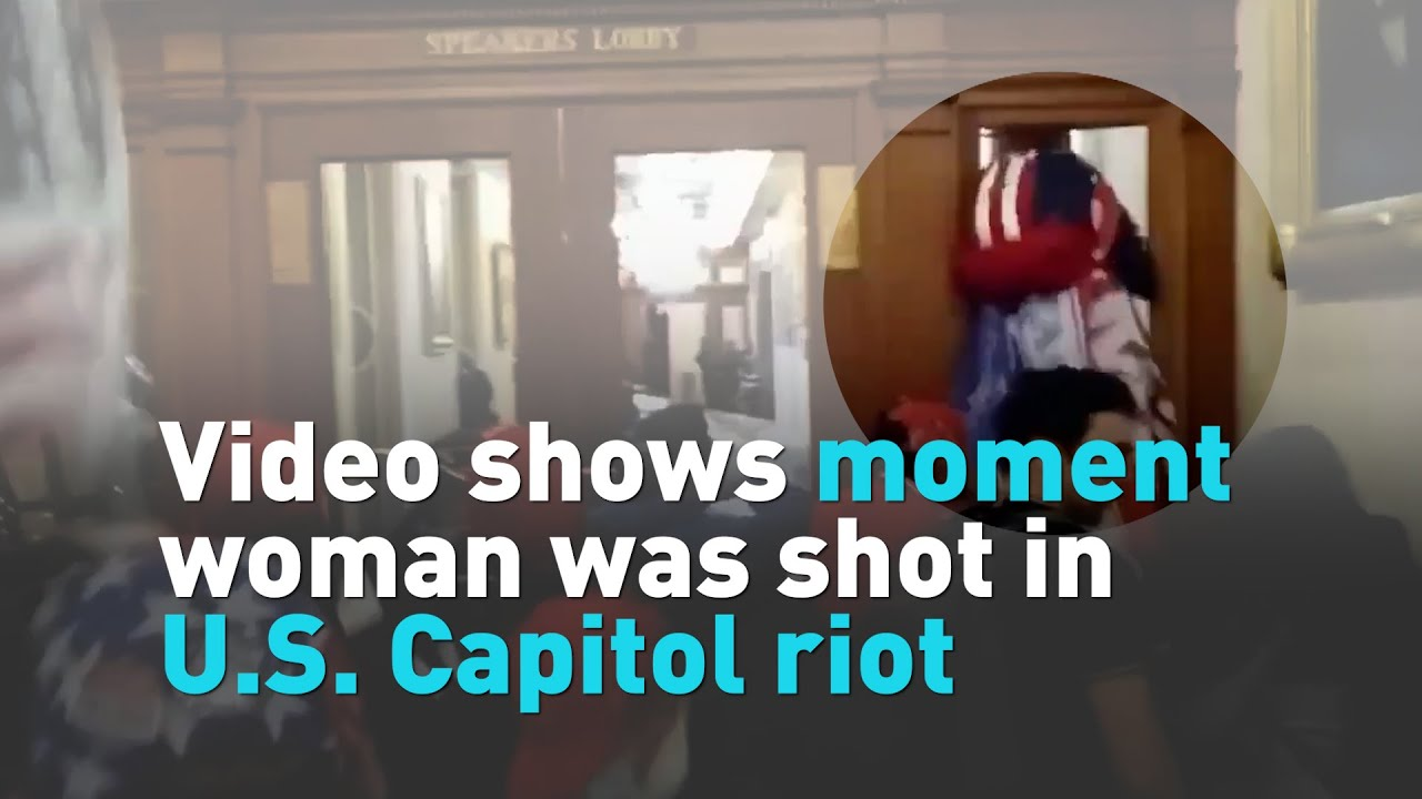 Woman Dies After Being Shot Inside Capitol Building During Riot