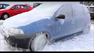 Girl cranking cold Fiat Punto 15th file (Audio only!)